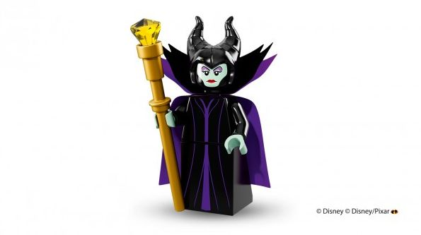 Maleficent in Lego minifigure form