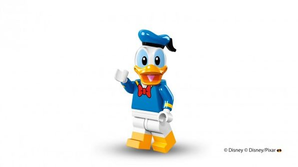 Donald Duck in Lego form