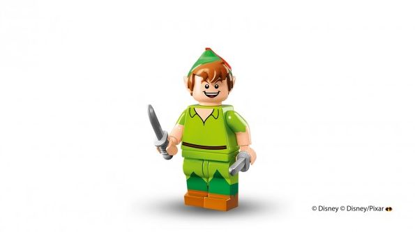 Peter Pan in Lego minifigure form