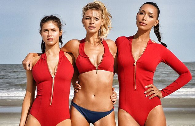 The ladies of Baywatch, featuring Alexandra Daddario, Kelly