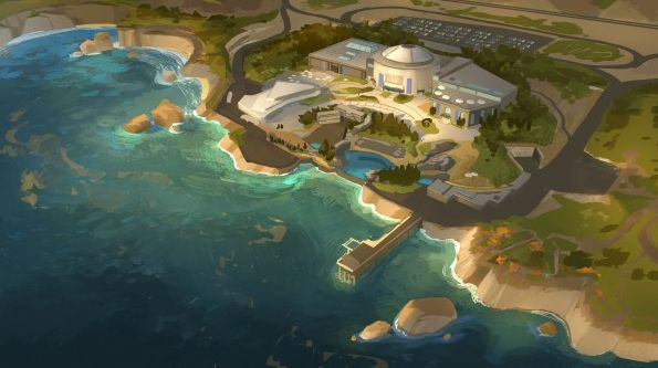 Finding Dory Location Concept Art
