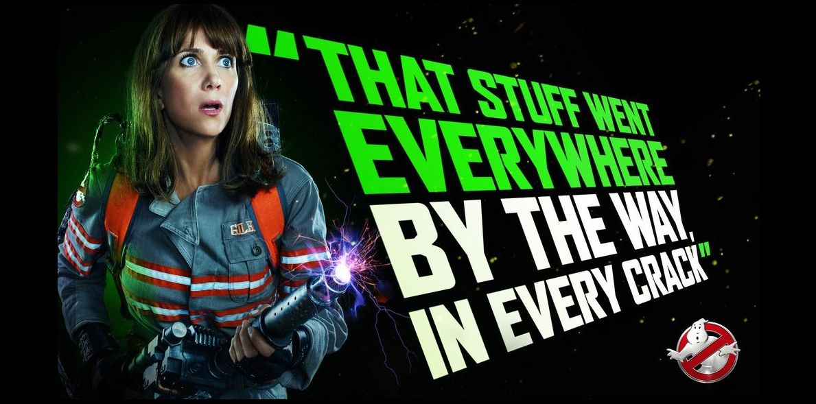 New Ghostbusters poster