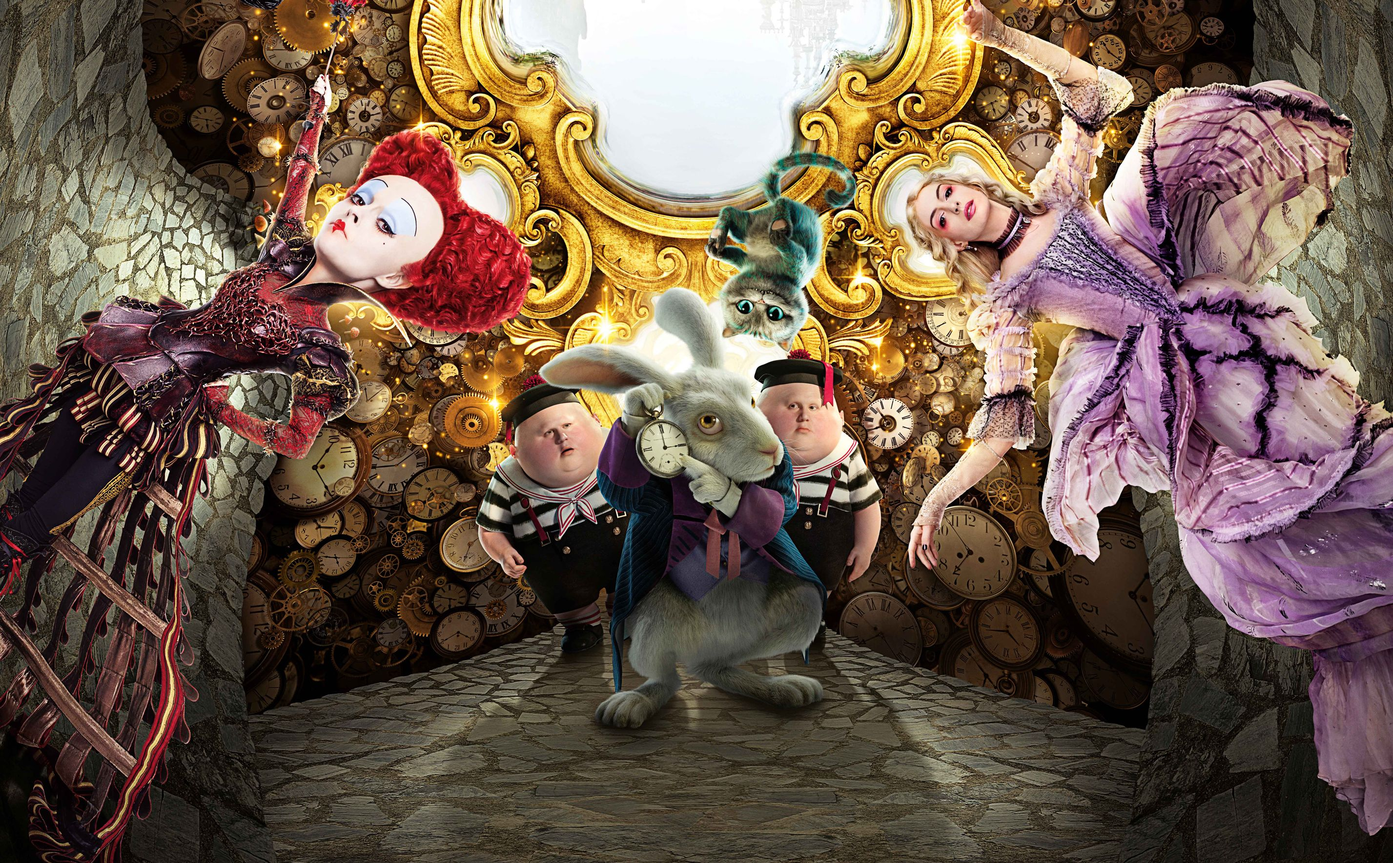 Alice Through the Looking Glass cast of characters