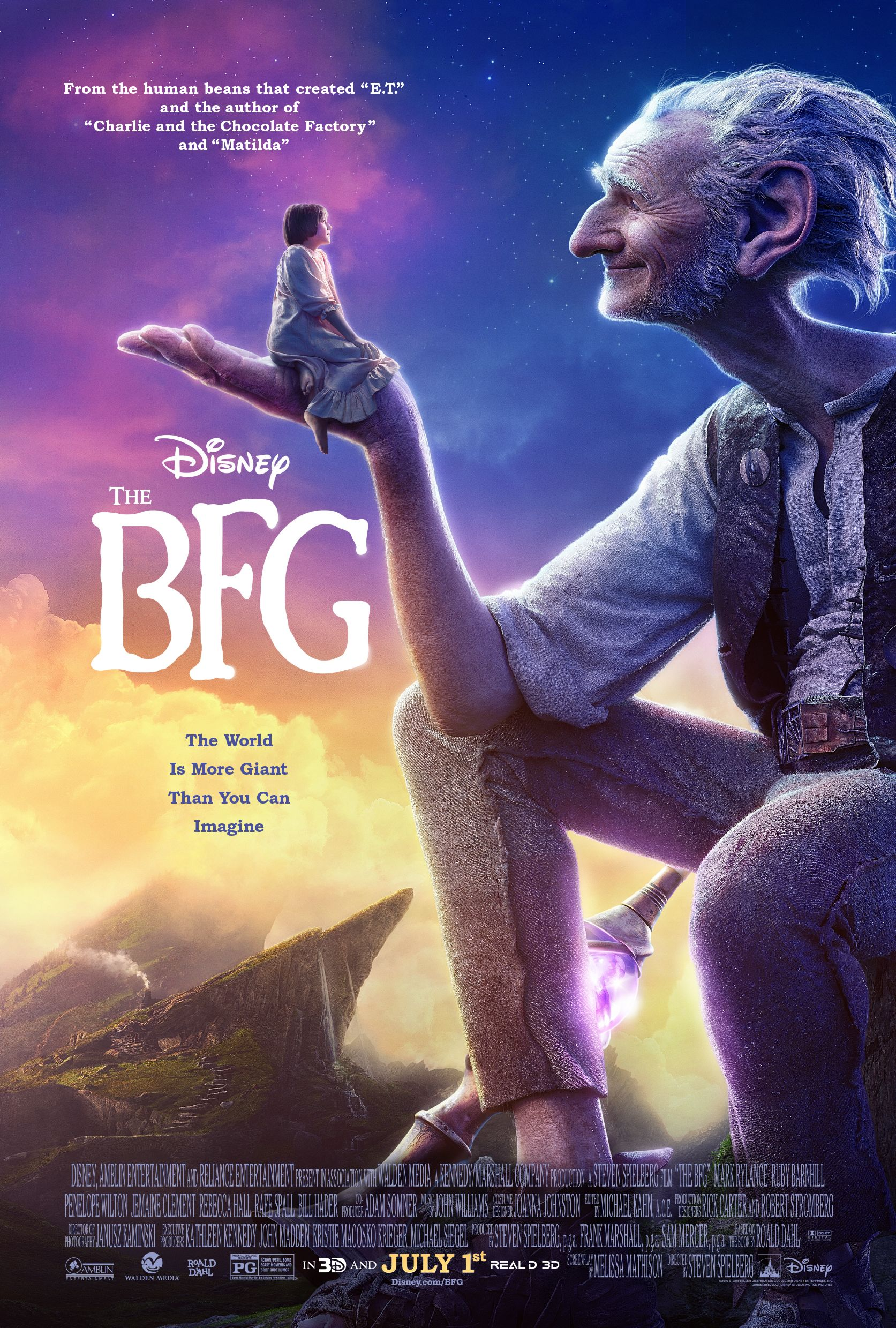 New poster for 'The BFG'