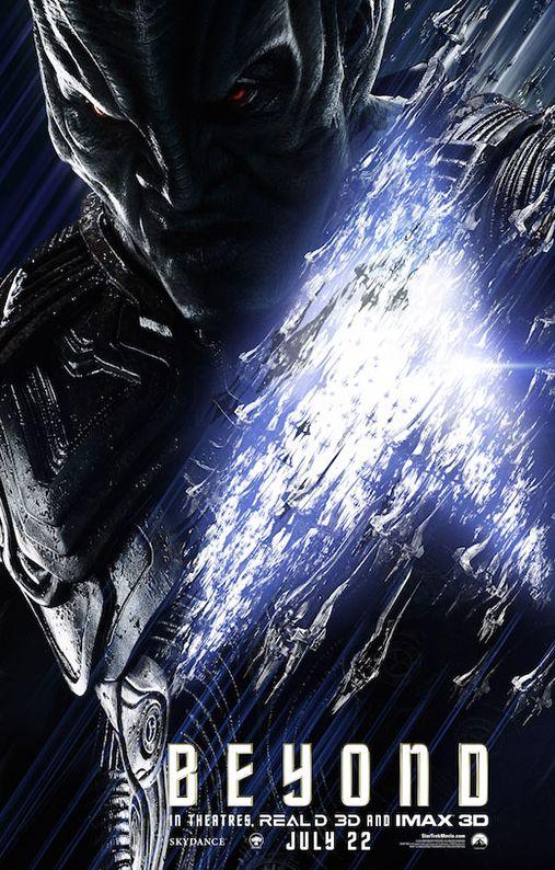Star Trek Beyond Character Poster with Idris Elba as Krall