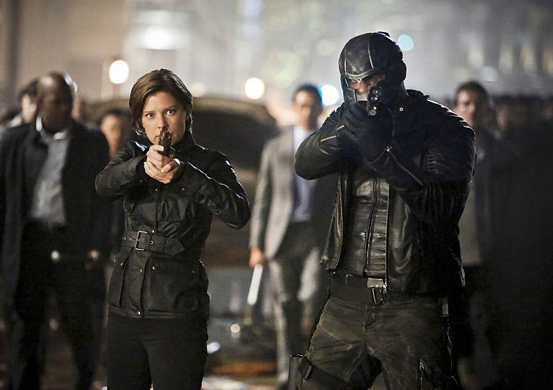 Lyla & John Diggle