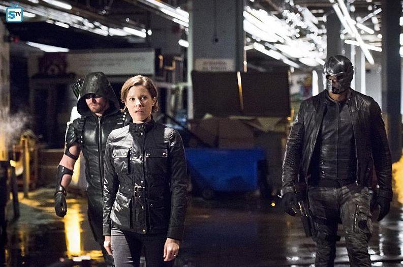 Lyla Diggle (ARGUS), Green Arrow, Spartan