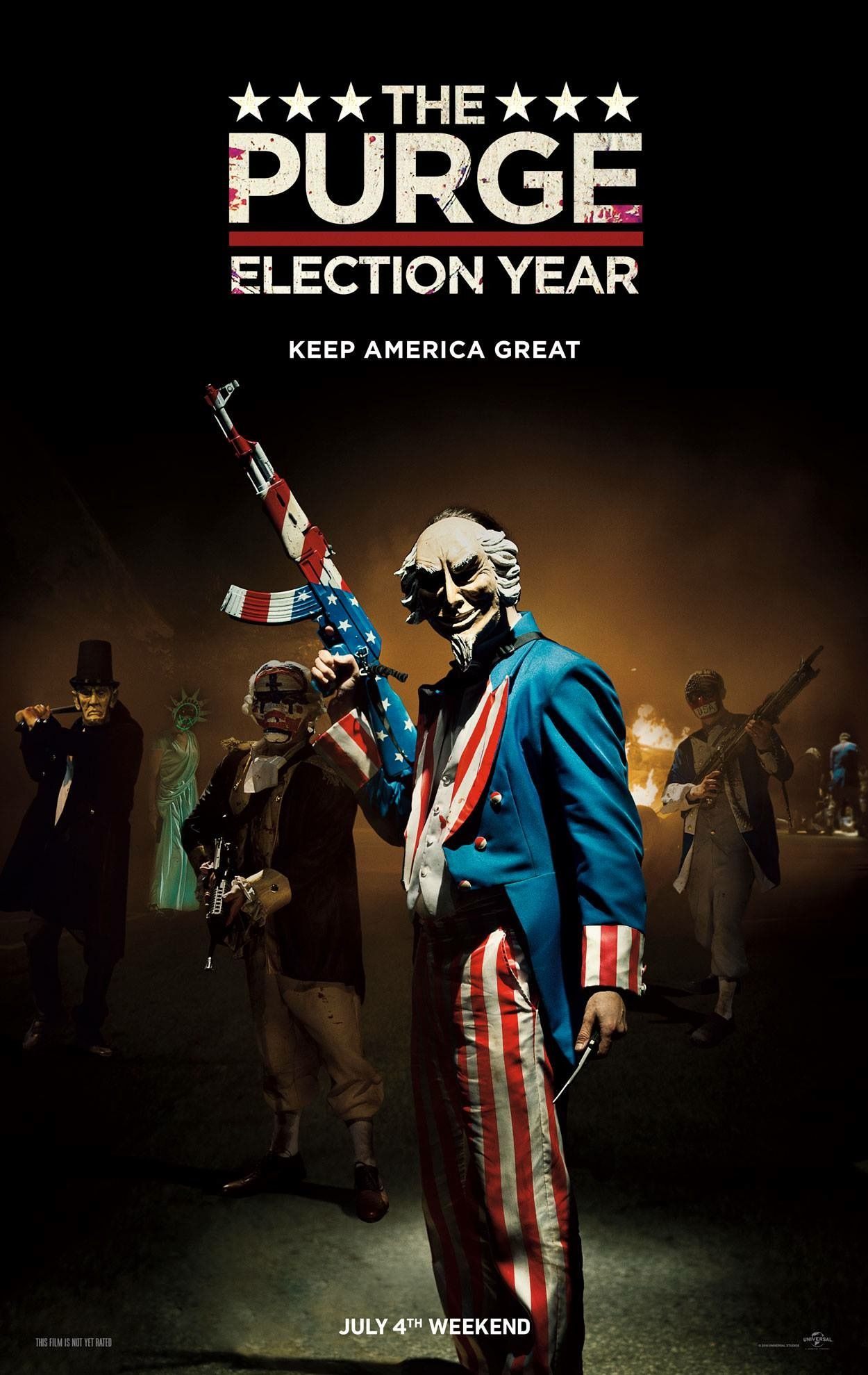 The Purge: Election Year - Keep America Great poster