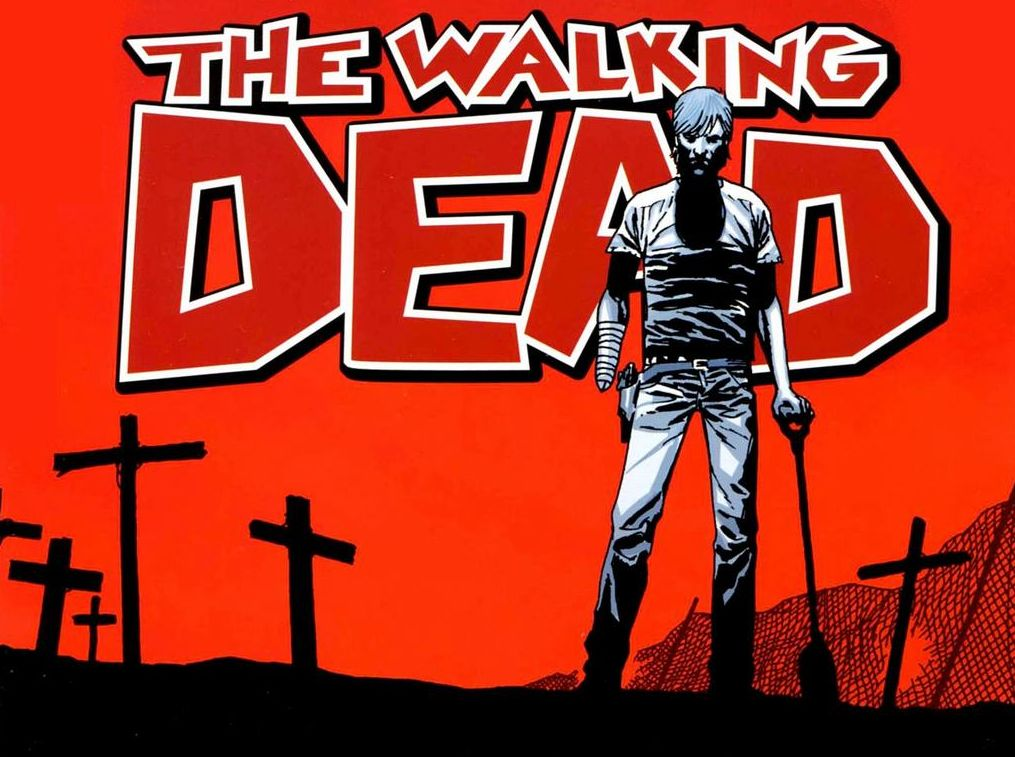 Rick Grimes, as drawn by Charlie Adlard