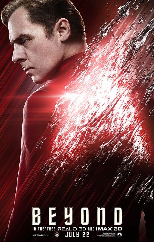 Simon Pegg as Montgomery 'Scotty' Scott in Star Trek Beyond