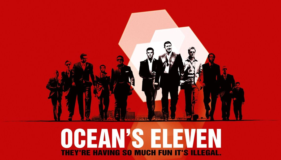 ocean s eleven film analysis first scene covering mise sce