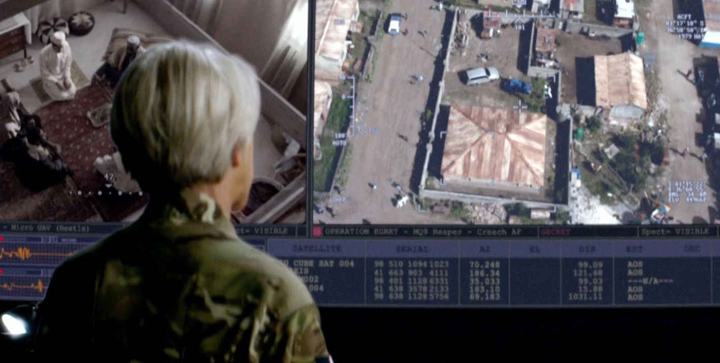 a screen shot from the movie eyes in the sky by nybooks