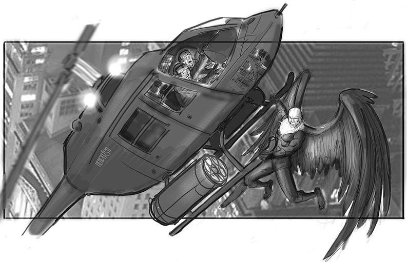 Concept art - Vulture