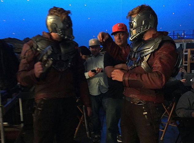 Behind the scenes on Guardians of the Galaxy Vol. 2