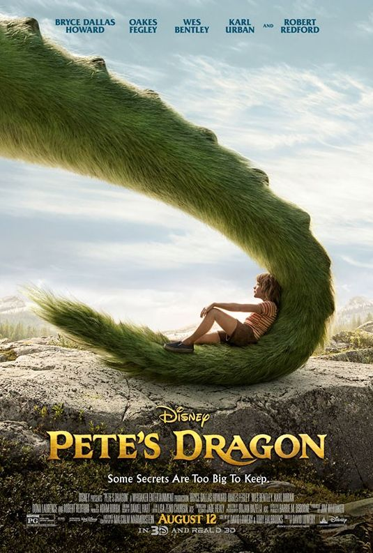 New poster for Pete's Dragon teases a fury new pal