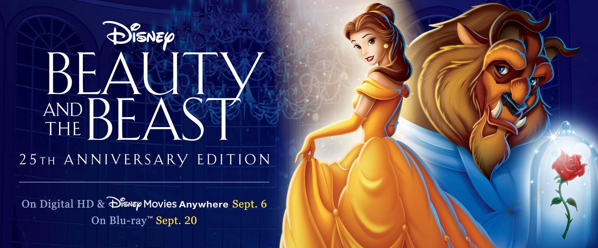 Beauty and the Beast gets a 25th anniversary edition