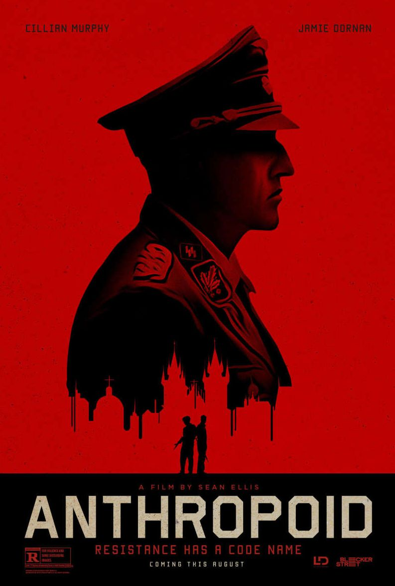 Official poster for Anthropoid