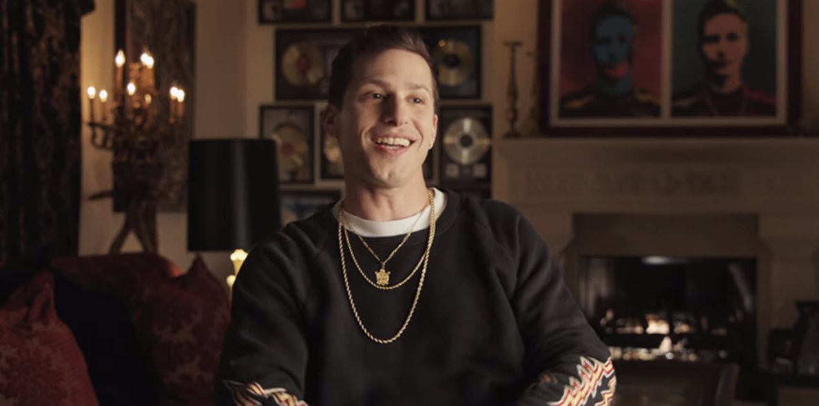 "Andy Samberg as Connor4Real in ""Popstar: Never Stop Never Stopping"""