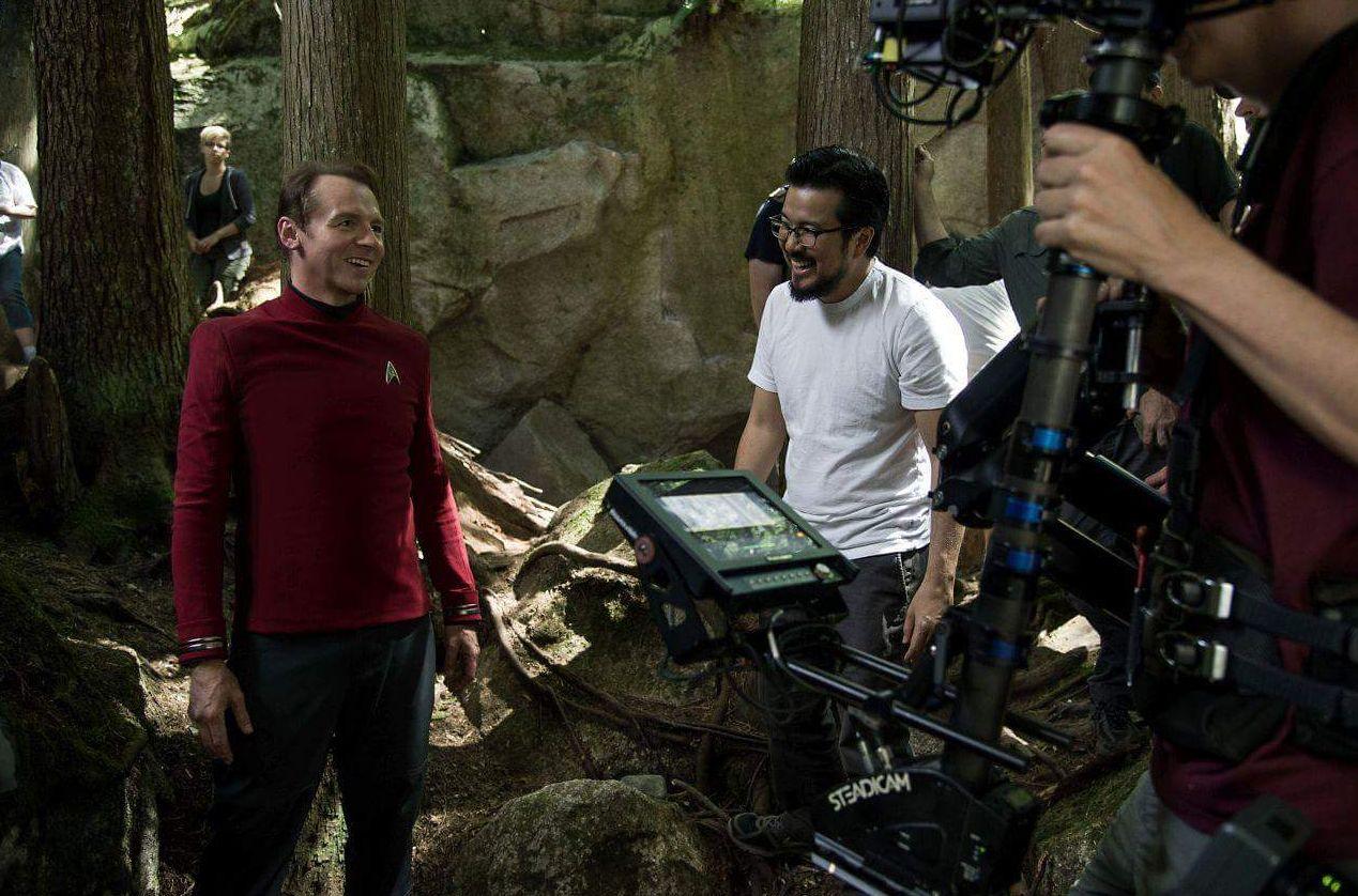 Justin Lin and Simon Pegg