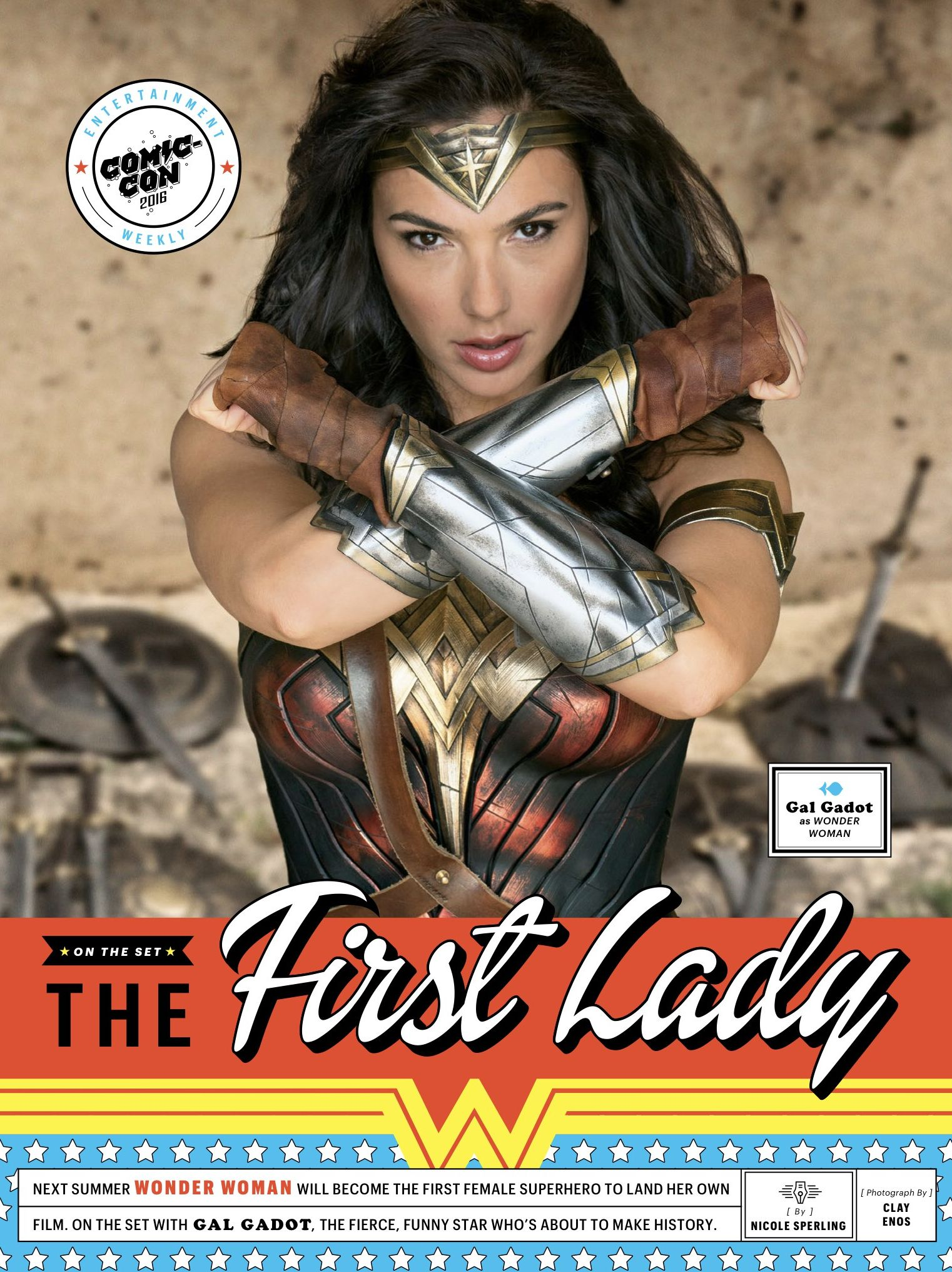 EW cover with 'Wonder Woman'