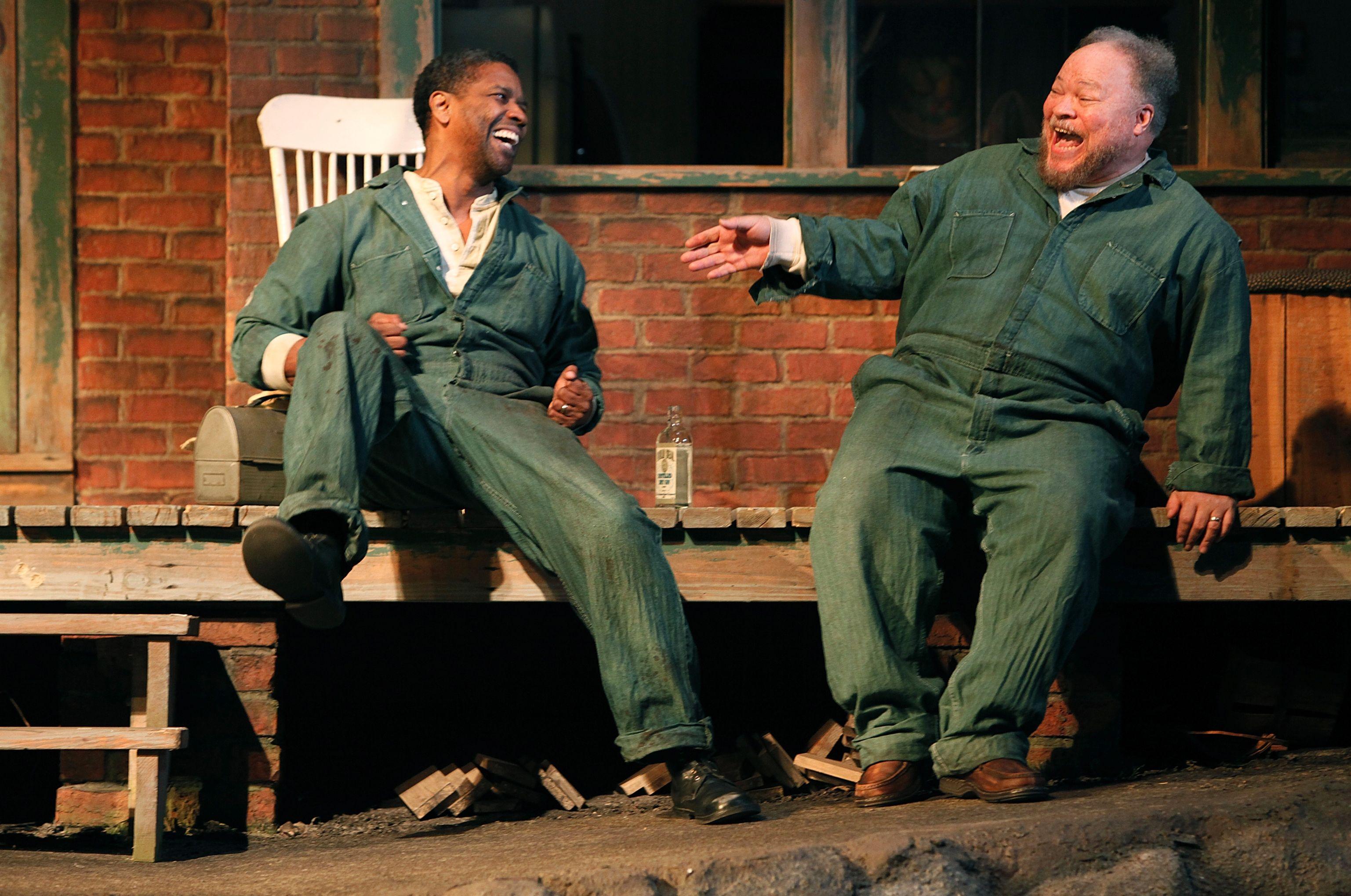 Denzel Washington in Fences