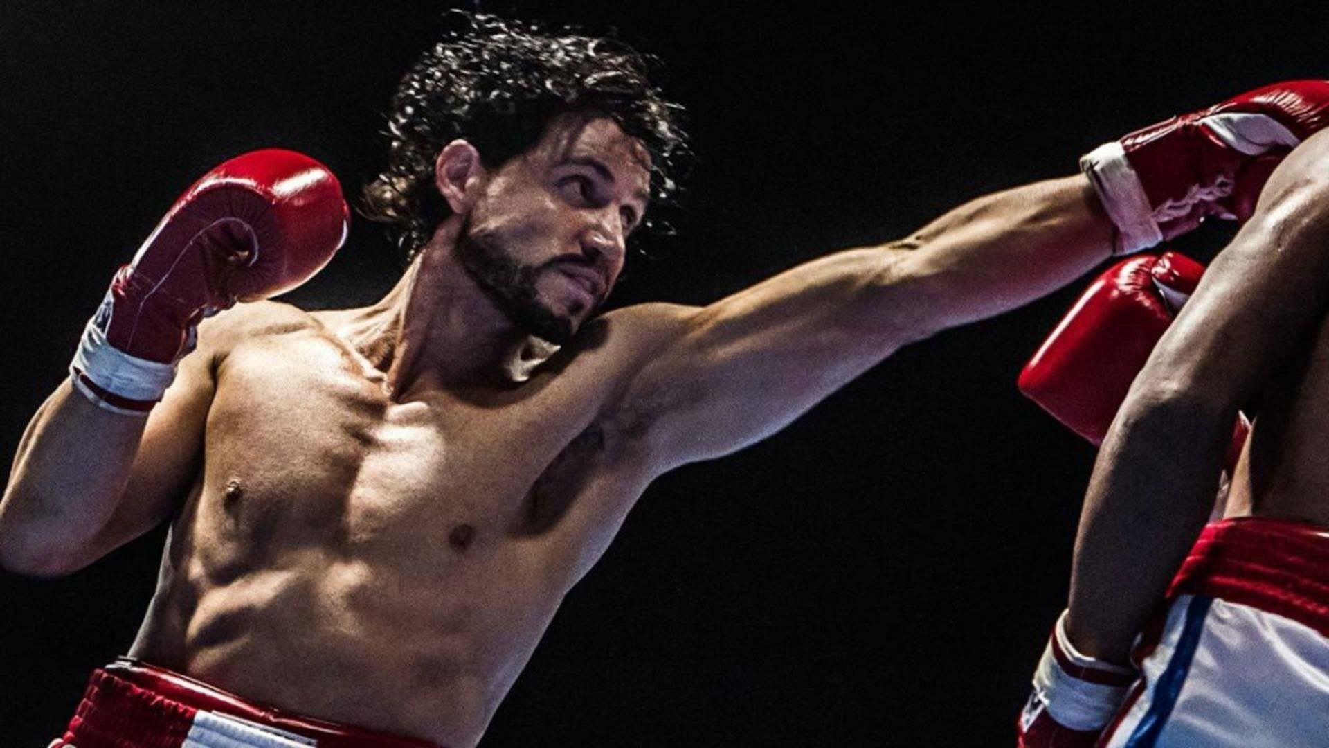 Edgar Ramirez as Roberto Duran in Hands of Stone