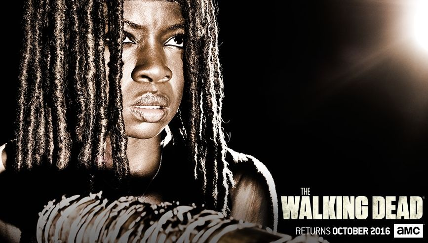 Character poster: Michonne