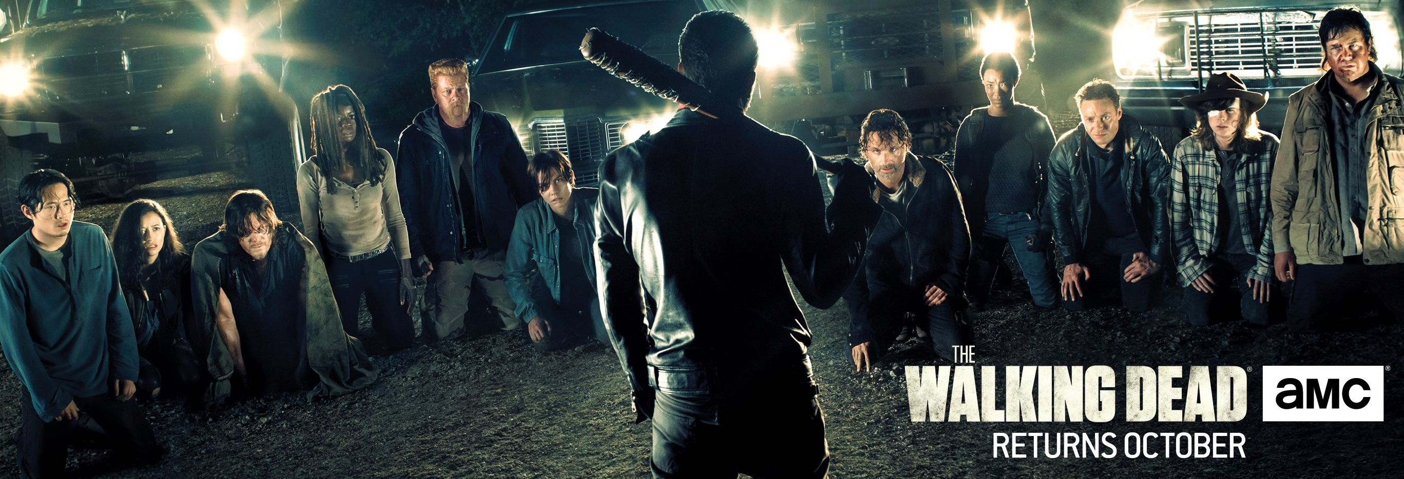 First poster art revealed for 'The Walking Dead' Season 7 Ah