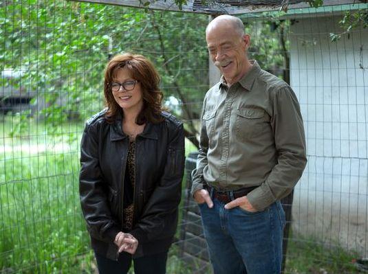 "Susan Sarandon, J.K. Simmons in ""The Meddler"""
