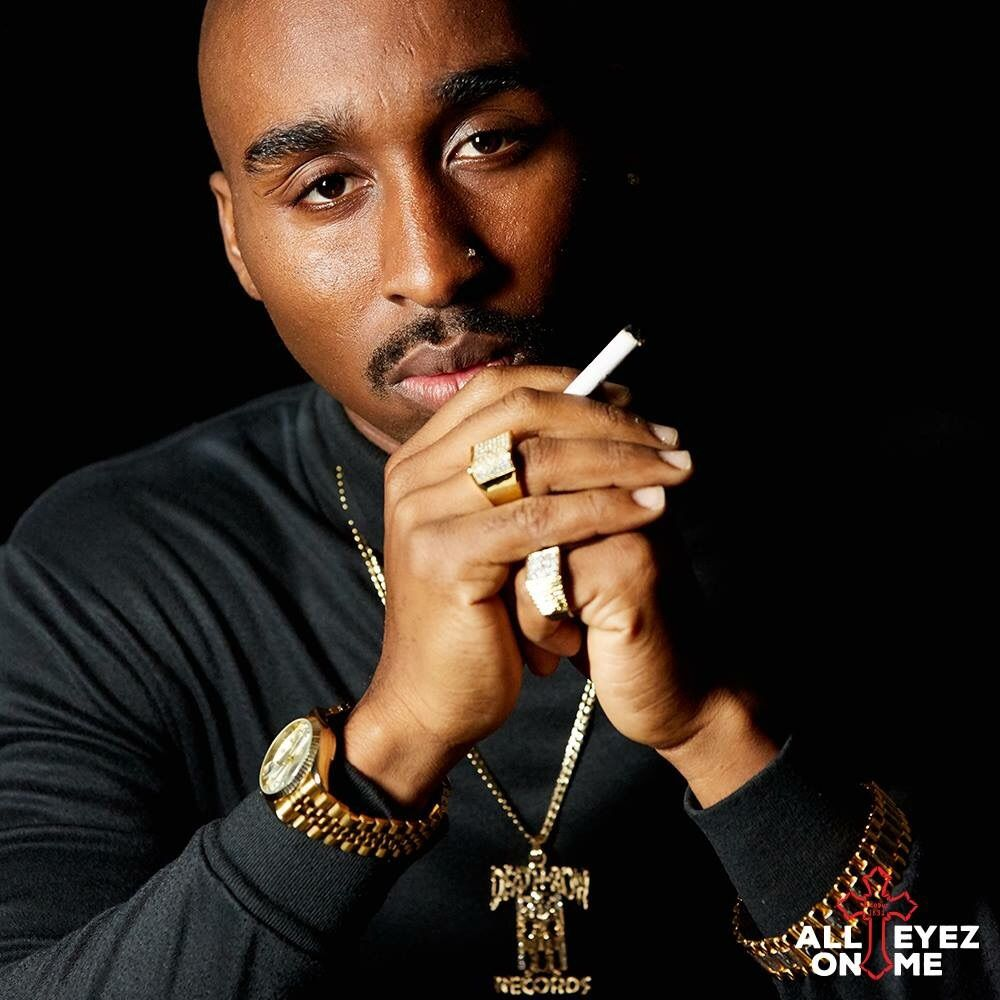 Demetrius Shipp Jr. as Tupac Shakur