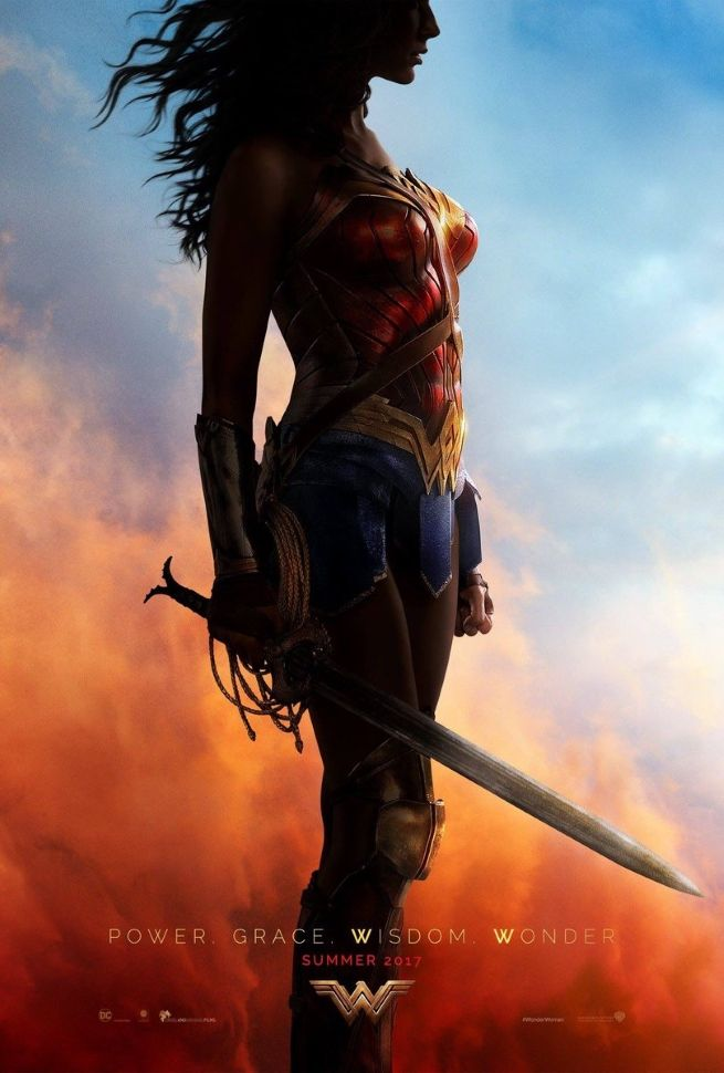 Wonder Woman poster revealed by Gal Gadot on twitter