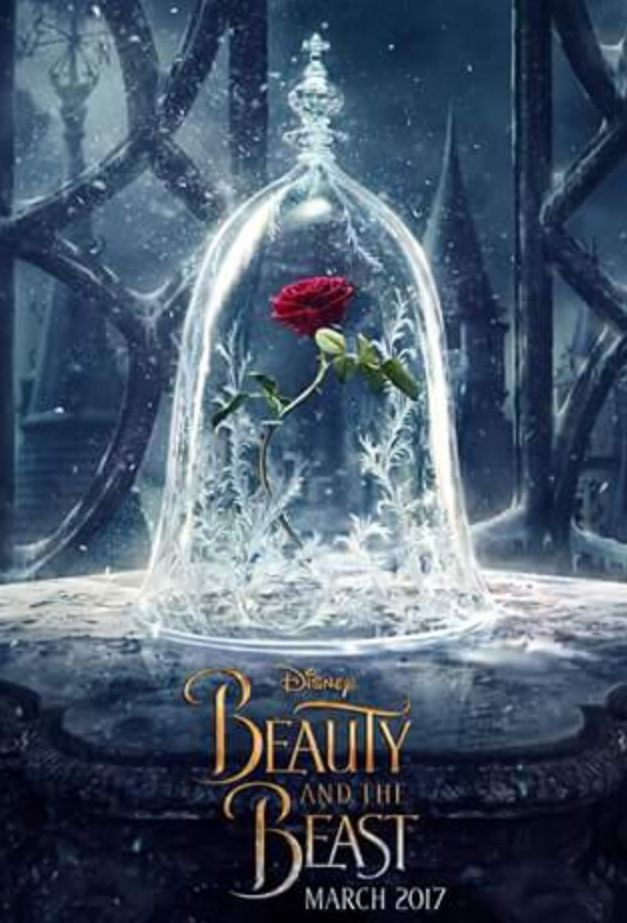 Newest Poster for Beauty and the Beast shows the Enchanted R