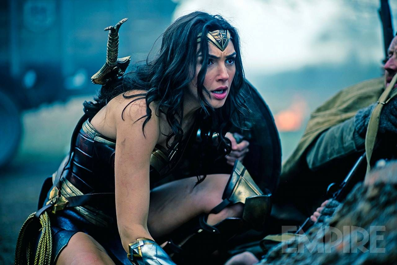 New image of Gal Gadot as Wonder Woman