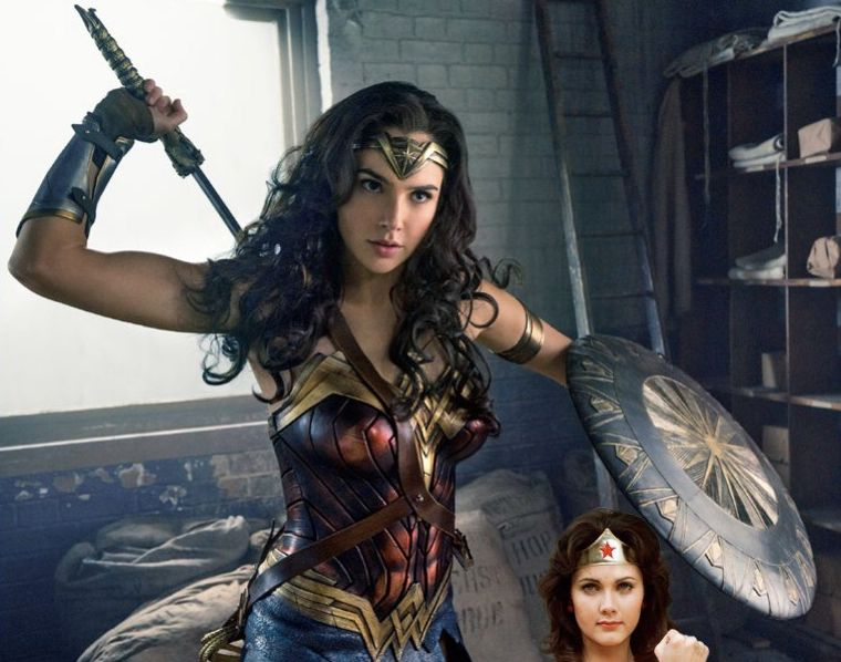 A new image of Gal Gadot in 'Wonder Woman' featured in EW