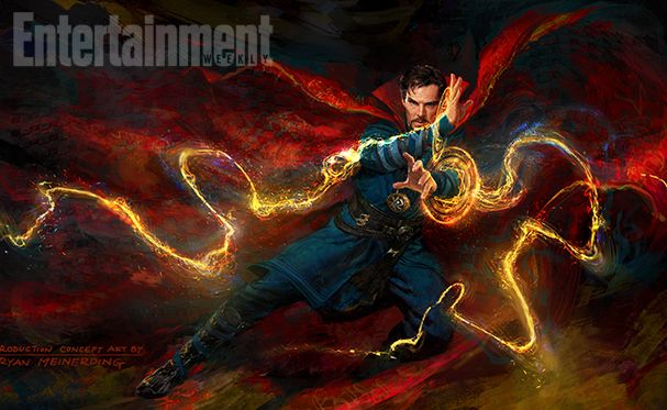 Marvel releases new 'Doctor Strange' image for Comic-Con