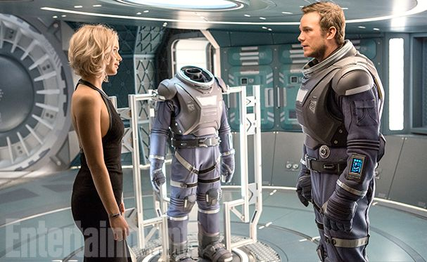 First look at Chris Pratt and Jennifer Lawrence in 'Passenge