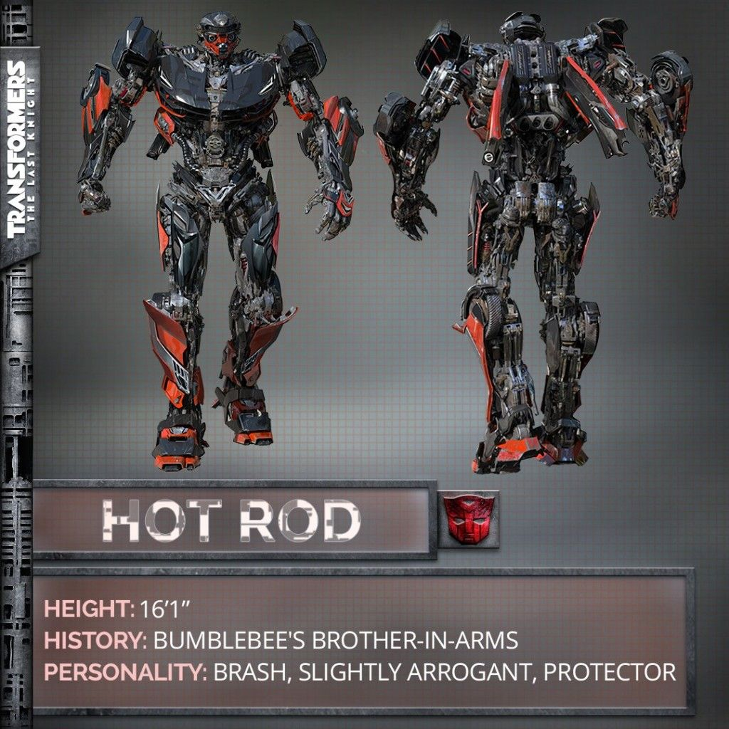 """Hot Rod confirmed to be in """"Transformers: The Last Knight"""""""