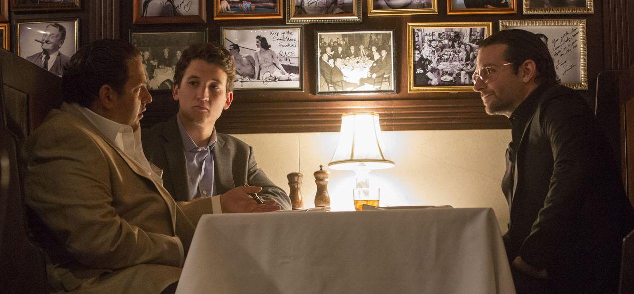 """Jonah Hill, Miles Teller, Bradley Cooper in """"War Dogs"""""""