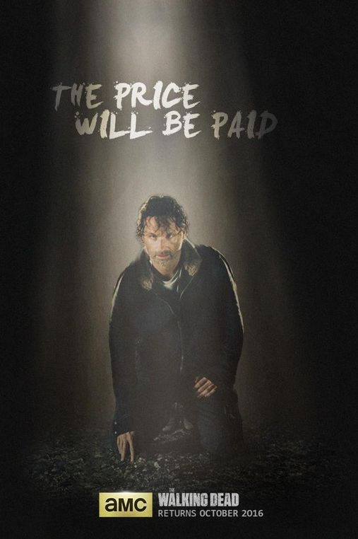 New poster for the upcoming season of 'The Walking Dead' is