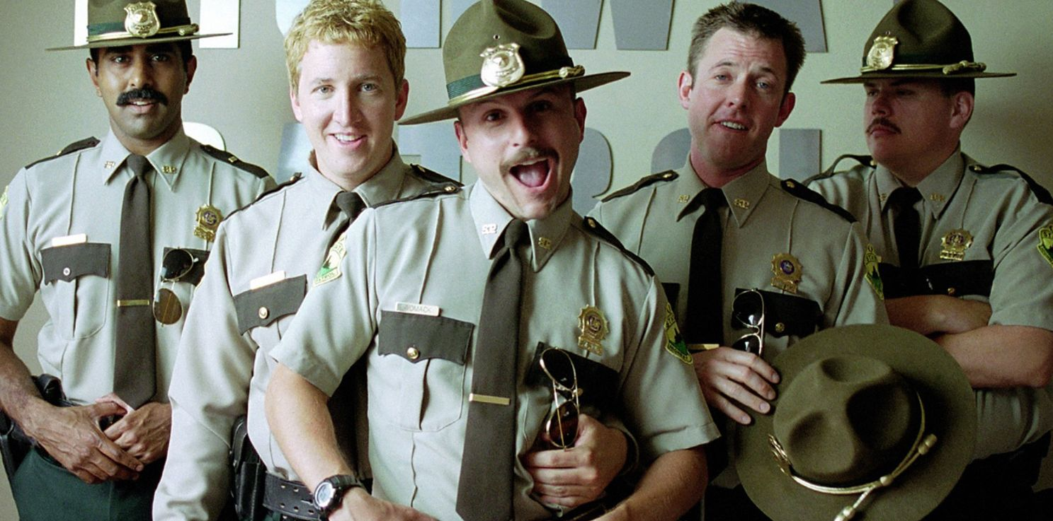 The cast of Super Troopers