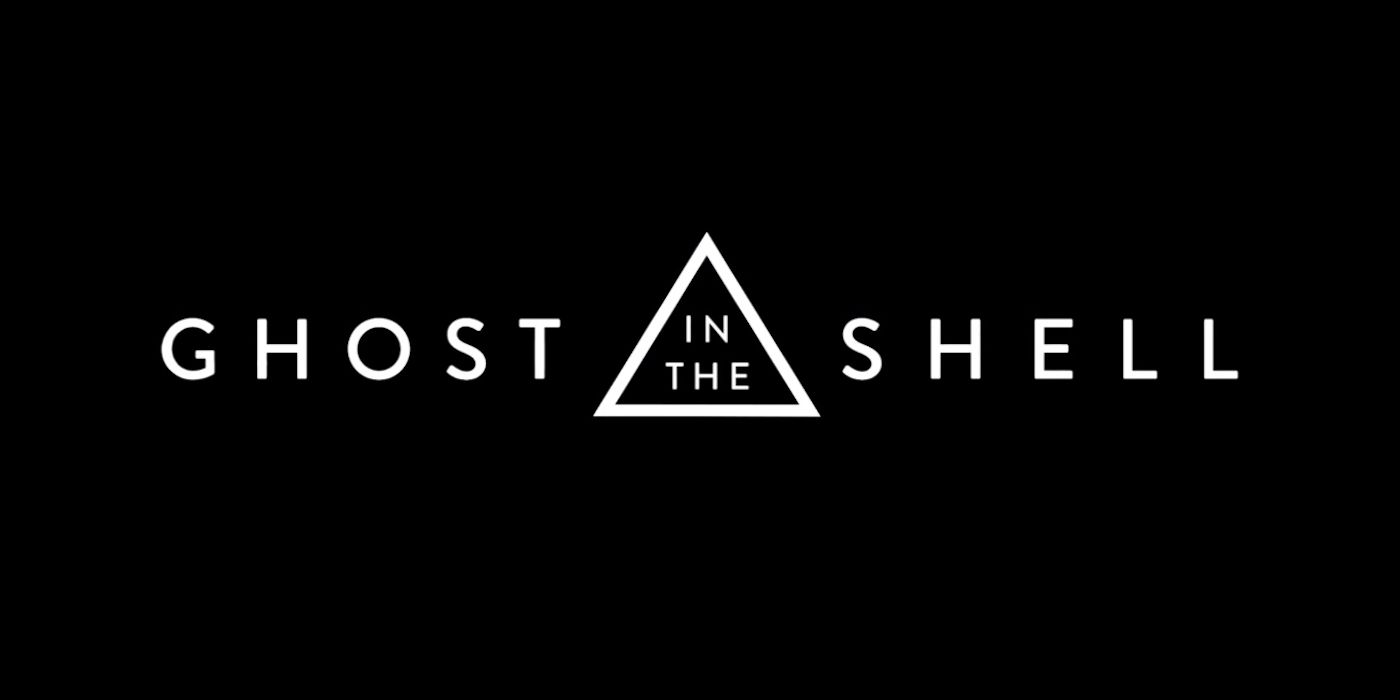 """Ghost In The Shell"" movie logo"