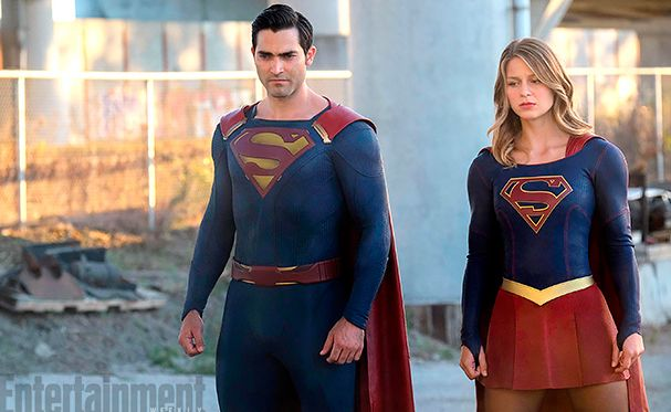 New look at Tyler Hoechlin's Superman from the set of 'Super