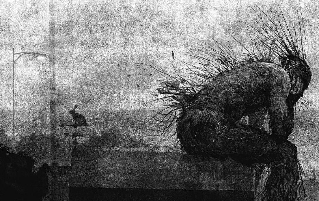'A Monster Calls' Book Illustration