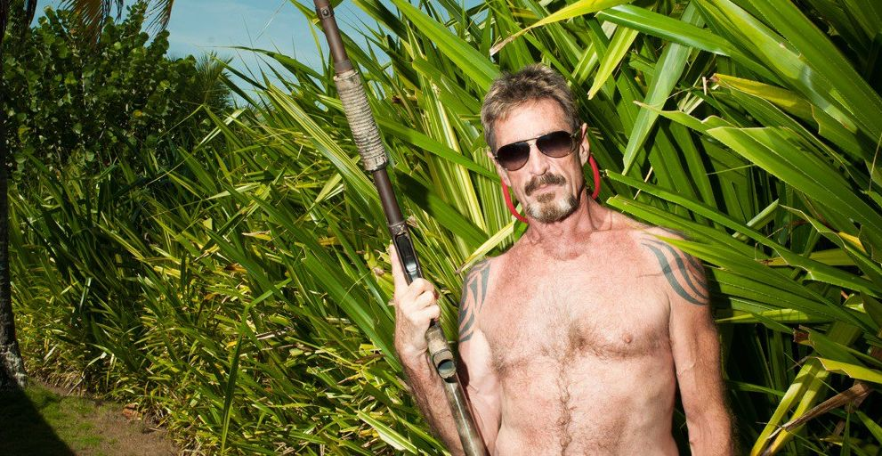 Documentary 'Gringo: The Dangerous Life of John McAfee'