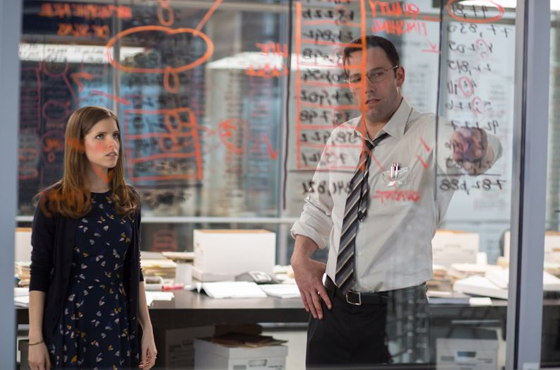 "Anna Kendrick, Ben Affleck in ""The Accountant"""