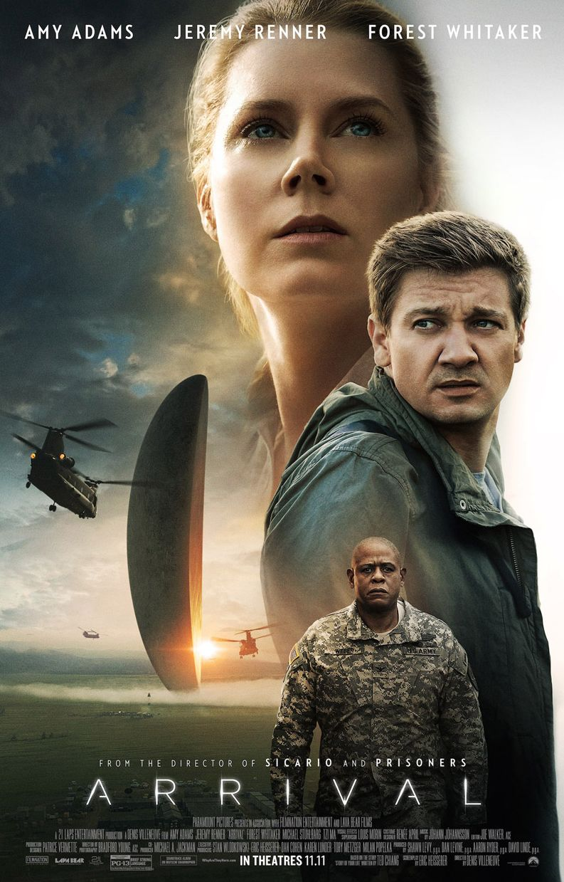Final poster for Arrival