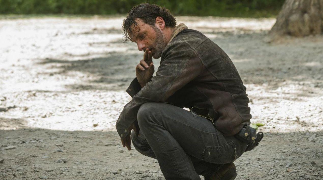 Andrew Lincoln as Rick, Season 6 Premiere