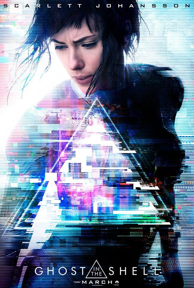 Ghost in the Shell live-action movie poster