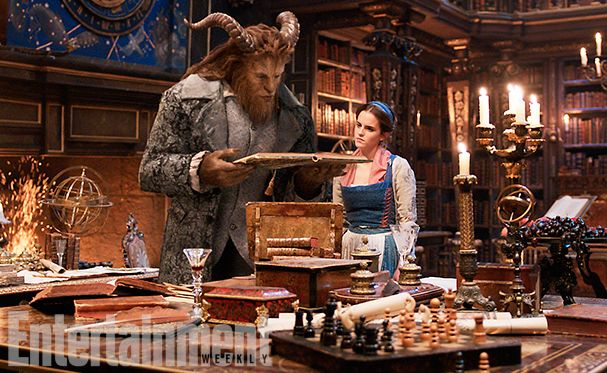 The titular beauty and beast