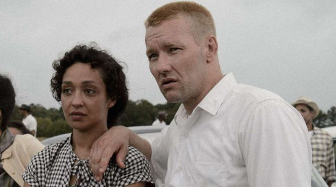 "Ruth Negga and Joel Edgerton in ""Loving"""